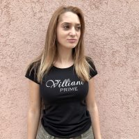 Prime by Villiani - black T-shirt